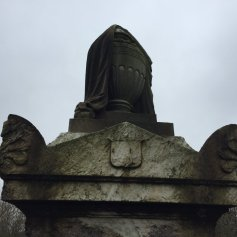 Example of Veiled/Draped Urn