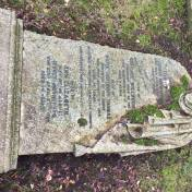 Example of Heavily Veiled Headstone