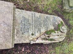 Example of Heavily Veiled Headstone