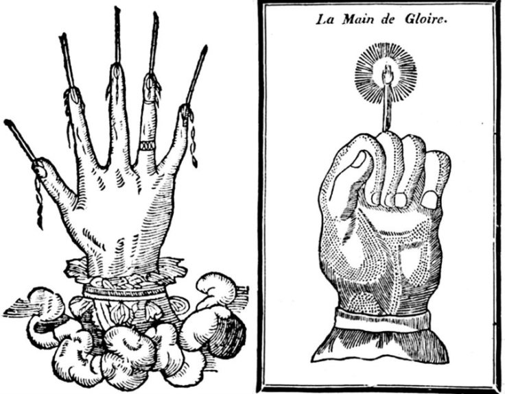 Hand of Glory Varients