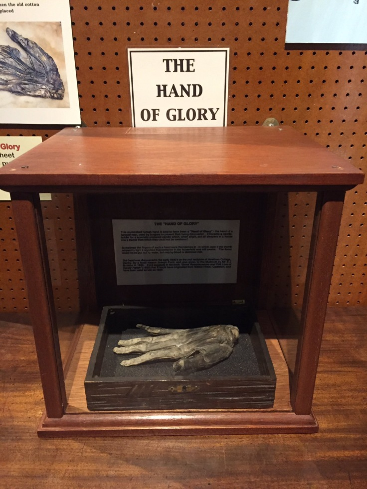 Whitby Museum's Hand of Glory