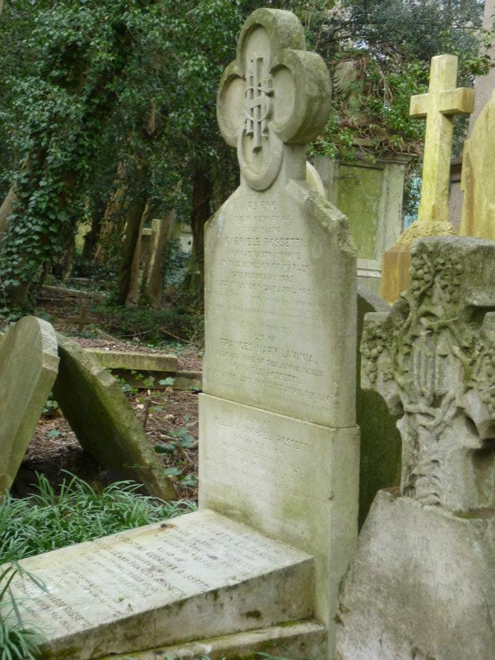 2012 Photograph of Lizzie's Grave