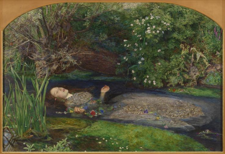 Ophelia 1851-2 by Sir John Everett Millais
