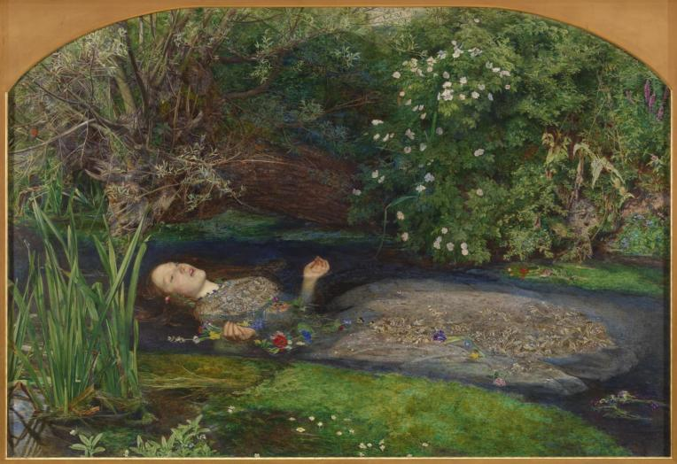 Ophelia 1851-2 by Sir John Everett Millais