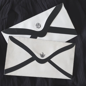 Mourning Envelopes [Personal Collection]