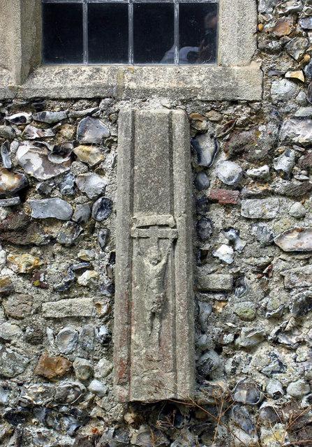 St_Faith,_Little_Witchingham,_Norfolk_-_Crucifix_-_geograph.org.uk_-_321302