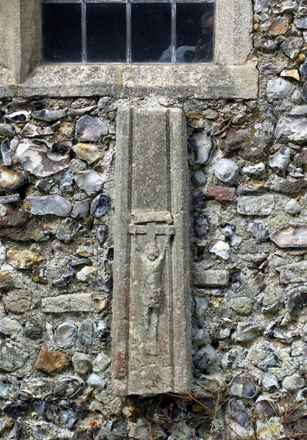 St_Faith,_Little_Witchingham,_Norfolk_-_Crucifix_-_geograph.org.uk_-_321302
