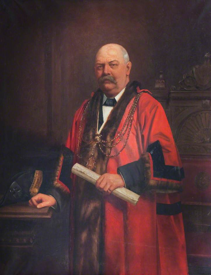 Jennison, George, 1871-1949; Robert William Roberts, Mayor of Grimsby (1909)