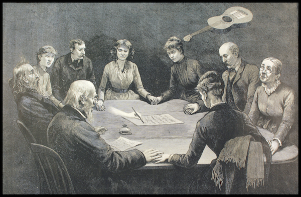 Spirit_Hodge_1887_April_2_Frank_Leslies_Illustrated_Seance_Engraving_WM