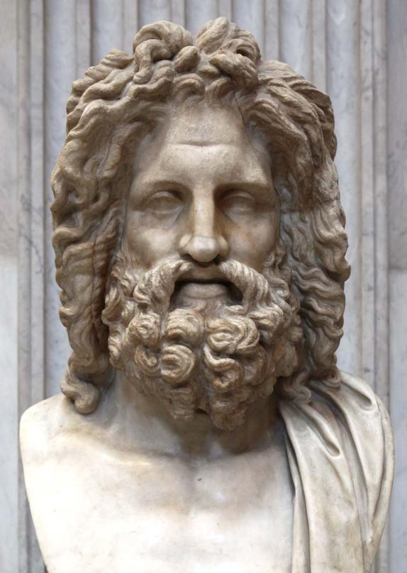 sculpture-god-Jupiter-Roman